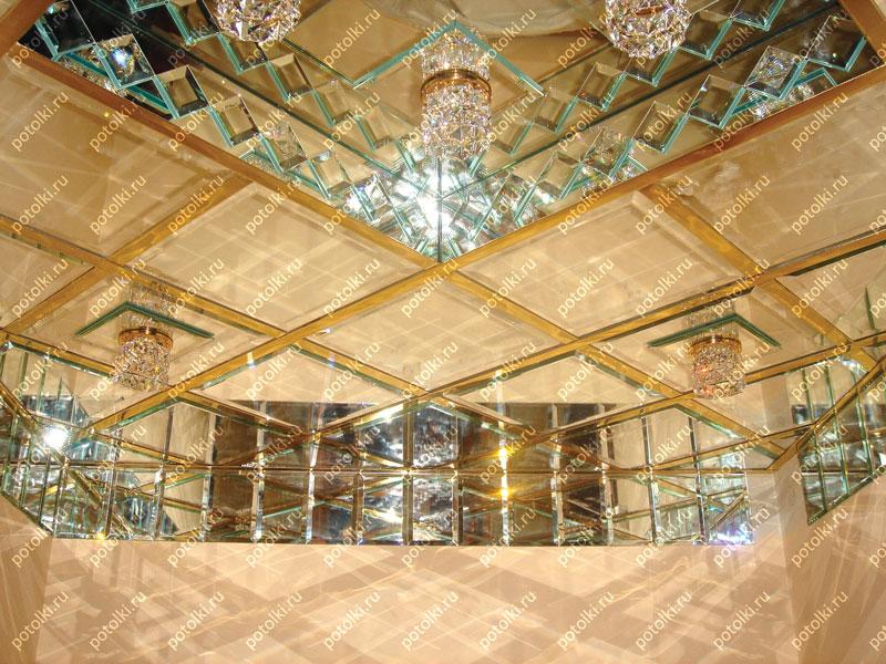 фото зеркальных потолков