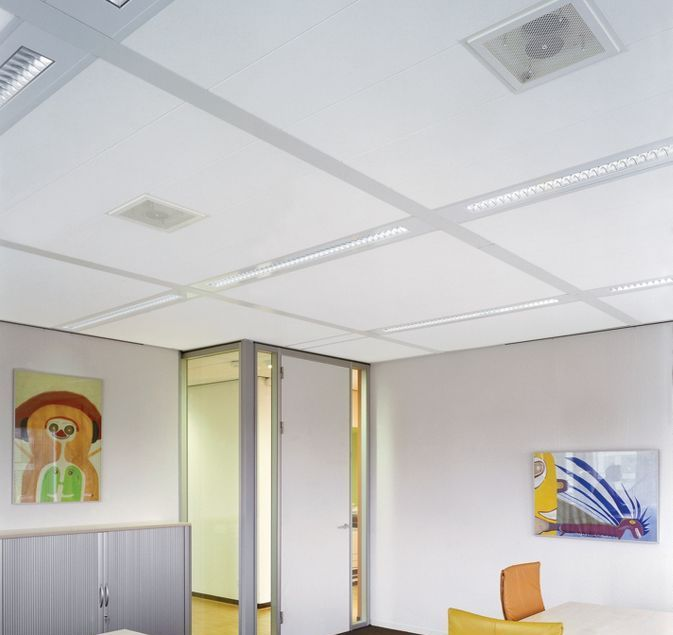 Потолок из плиты Ultima dB (Армстронг)