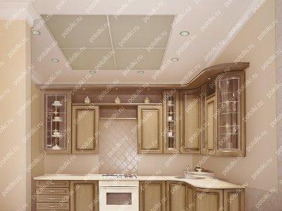 Стеклянный матовый потолок