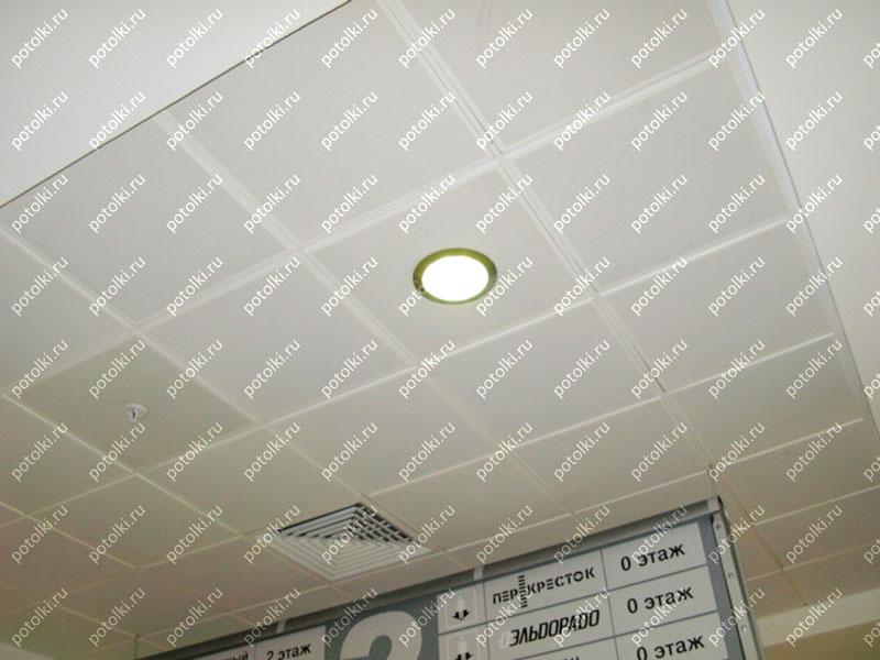 Подвесной потолок с шумоизоляцией